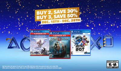 Buy More Save More on Select Games. Buy 2 Save 30%, Buy 3 Save 50%