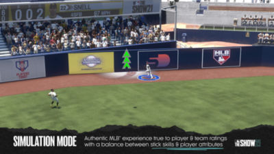 MLB The Show 21 - 1 minute 20 seconds video trailer highlighting the gameplay style