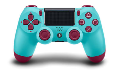 Image of the PlayStation 4 DUALSHOCK4 Berry Blue Wireless Controller