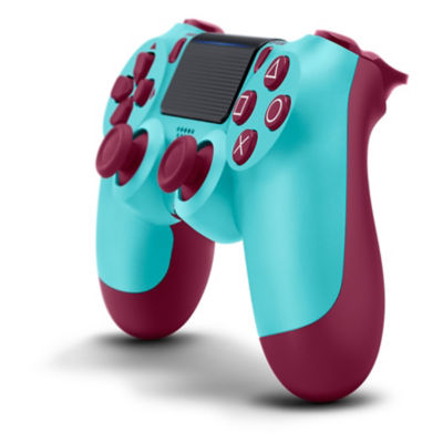 DUALSHOCK®4 Wireless Controller for PS4™ - Berry Blue Thumbnail 2