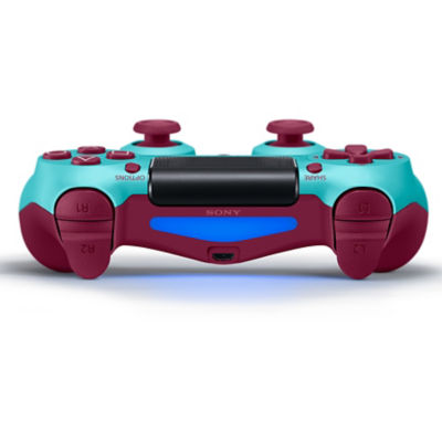 DUALSHOCK®4 Wireless Controller for PS4™ - Berry Blue Thumbnail 4