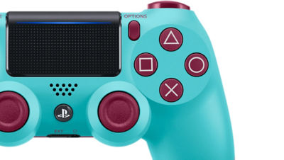 DUALSHOCK®4 Wireless Controller for PS4™ - Berry Blue