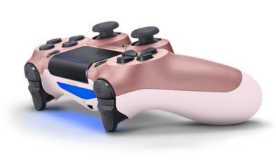 PlayStation 4 DUALSHOCK®4 Rose Gold Wireless Controller