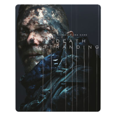PS4 Death Stranding Special Edition steelbook game case featuring Sam Bridges
