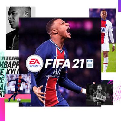 FIFA 21 Standard Edition cover art