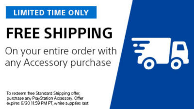 Limited time only. Free shipping on your entire order with any accessories purchase Offer does not apply to pre-order items. Offer ends 6/30
