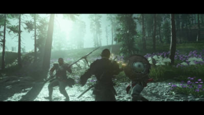 30 second video trailer highlighting gameplay and accolades for Ghost of Tsushima