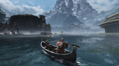 1 minute 35 second video trailer highlighting God of War and Tales from the Lake of Nine on PS4