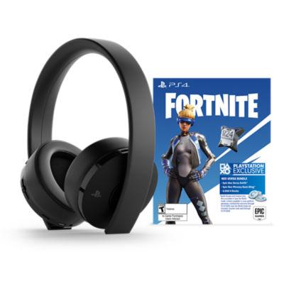 Gold Wireless Headset + Fortnite Neo Versa bundle