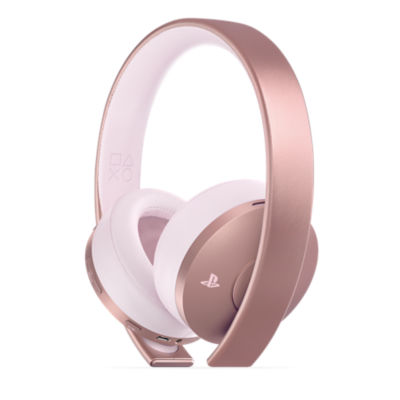 Image of the Gold Wireless Headset Rose Gold edition