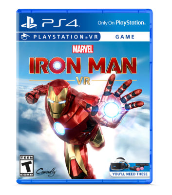 PS VR Marvel's Iron Man game case