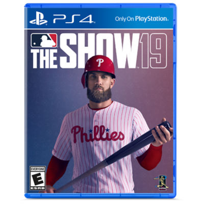 PS4 MLB The Show 19 game case