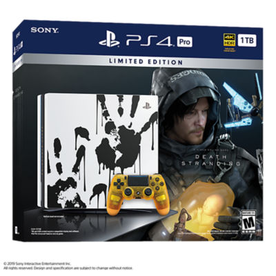 PlayStation 4 Pro 1TB DEATH STRANDING Limited Edition Console Bundle