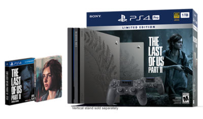 Limited Edition The Last of Us Part II PlayStation 4 Pro 1TB Bundle