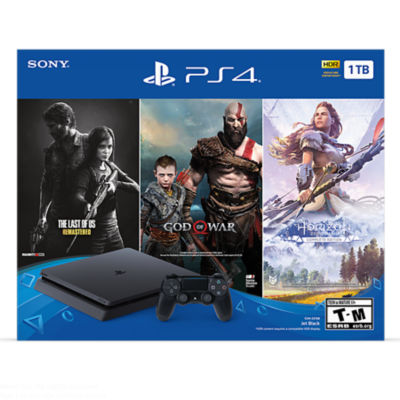 Only on PlayStation PS4 1TB Console Bundle