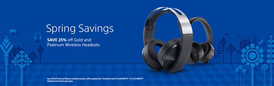 Save 25% off select Wireless Headsets