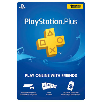 Image of the PS Plus 1 month subscription item