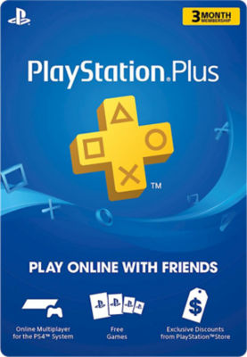 PlayStation®Plus Membership - 3 Months