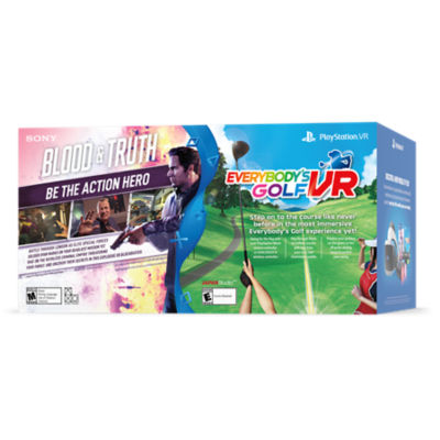 PlayStation® VR Blood & Truth and Everybody's Golf VR Bundle Thumbnail 3