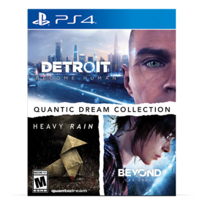 PS4 Quantic Dream Collection game case
