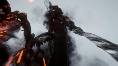 40 second video trailer highlighting Bloodborne