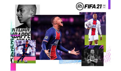Collage of a Fifa Soccer Player