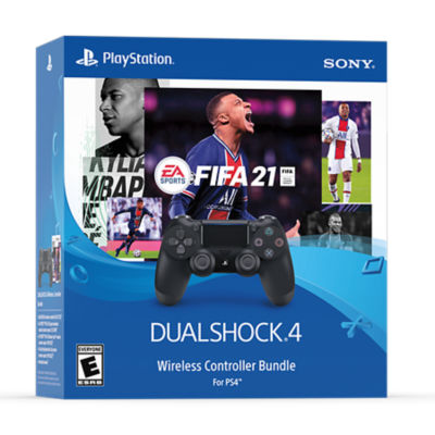 EA SPORTS™ FIFA 21 DUALSHOCK®4 Wireless Controller Bundle for PS4