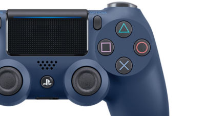 DUALSHOCK®4 Wireless Controller for PS4™ - Midnight Blue