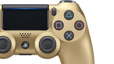DUALSHOCK®4 Wireless Controller for PS4™ - Gold