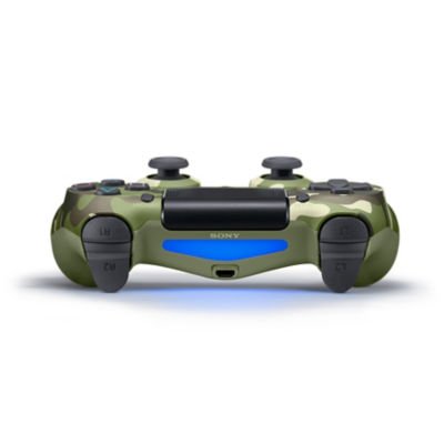 DUALSHOCK®4 Wireless Controller for PS4™ - Green Camouflage Thumbnail 4