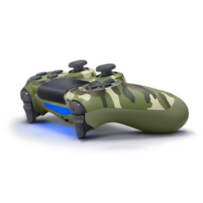 DUALSHOCK®4 Wireless Controller for PS4™ - Green Camouflage Thumbnail 3