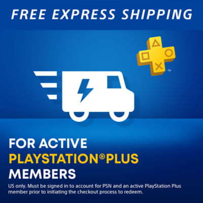 Free shipping for active ps plus members