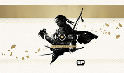 Ghost of Tsushima Director's Cut artwork and logo