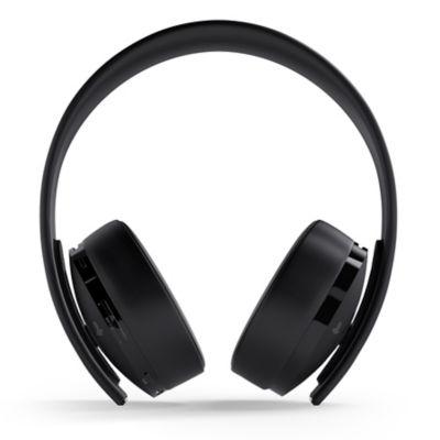 Factory Recertified Gold Wireless Headset – Black Thumbnail 2