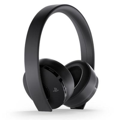 Factory Recertified Gold Wireless Headset – Black