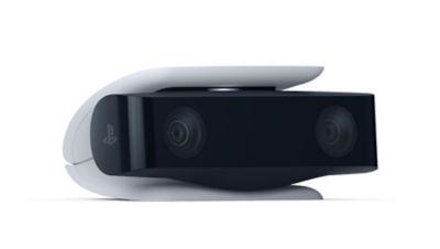 Image of the PS5 HD Camera at an angle