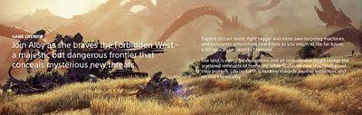 Horizon Forbidden West screenshot with game overview