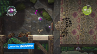 1 minute 13 second video trailer highlighting Little Big Planet 3 on PS4