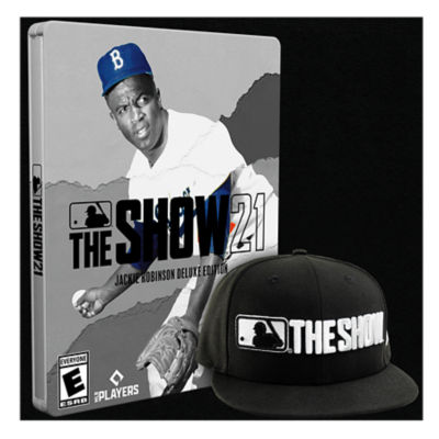 MLB The Show 21 Jackie Robinson Deluxe Edition - PS4 with PS5 Entitlement