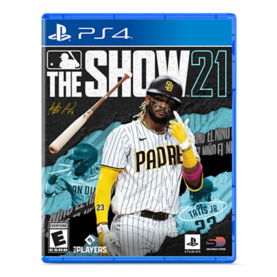 PS4 MLB the Show 21 game case featuring Fernando Tatis Jr