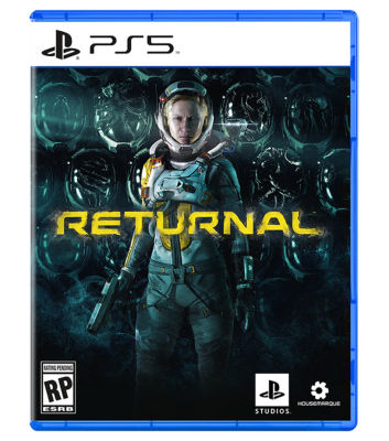 PS5 Returnal physical game case