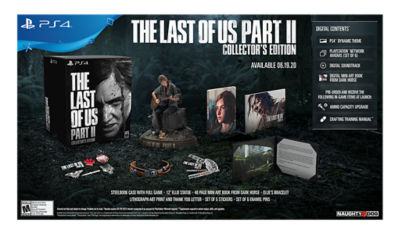 PS4 The Last of Us Part 2 Collector's Edition