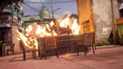 30 second video trailer highlighting Uncharted 4 A Thief's End multiplayer feature on PS4